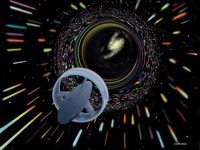 Wormhole_travel_as_envisioned_by_Les_Bossinas_for_NASA [Blogtour] Star Trek – Der Warp-Antrieb